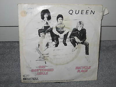 """Single Queen """"Bicycle Race/Fat Bottomed Girls"""""""