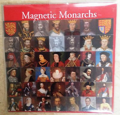 Magnetic Monarchs from the National Portrait Gallery