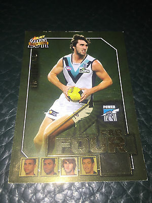 2011 AFL Select Champions Fab Four Justin Westhoff (Port Adelaide)