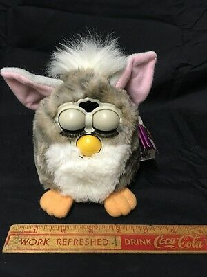 FURBY by Tiger Electronics COOL VINTAGE TOY WITH TAG DATED 1998
