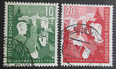 Germany West - 1952 Youth Hostel Set - Very Fine Used