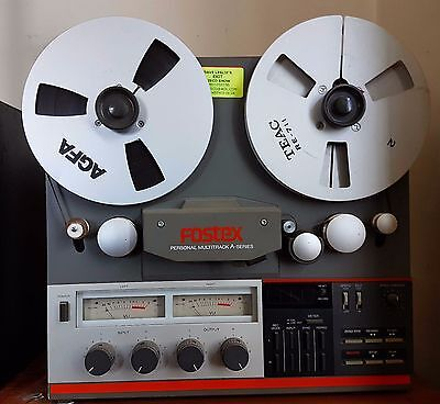 Fostex A-2 Reel To Reel Tap Recorder