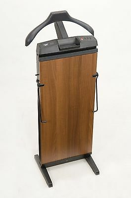 CORBY 7700 Trouser Press. 15 30 & 45 Minute Timer. Walnut Wood Effect Finis... -