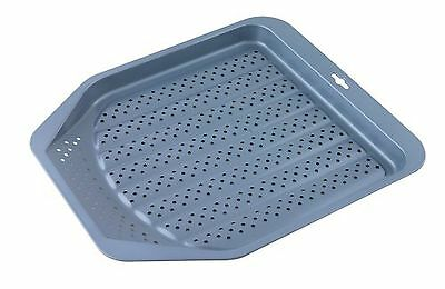 Swift Faringdon Collection Bakers Pride Non-Stick Oven Chip Tray Carbon Ste... -