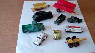 Job Lot Assorted Toy Cars, Various Makes