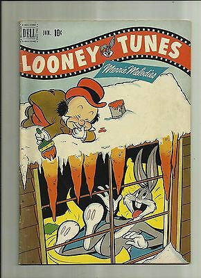 Looney Tunes &  Merry Melodies #123 1952 Dell Comics  Golden Age Bugs Bunny  Fn