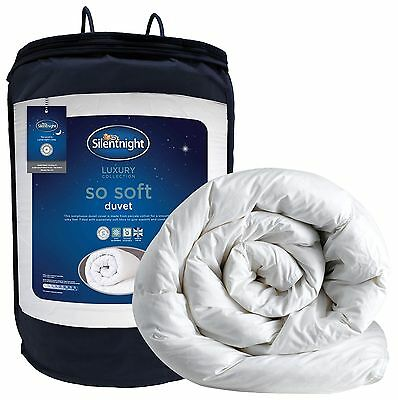 Silentnight So Soft Duvet 10.5 Tog - King White