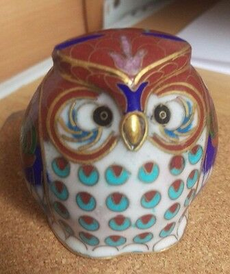 Chinese Collectable Owl Ornament