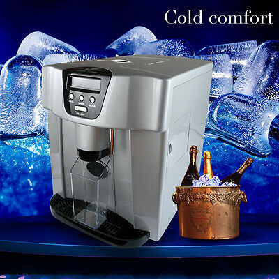 Stainless Steel Portable Top Countertop Compact Ice Maker & Dispenser 22lbs./Day