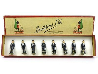 WBritain Toy Soldiers No 1510 British Sailors Regulation Dress Marching