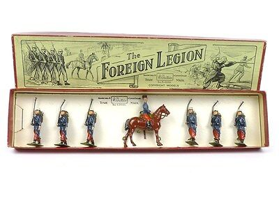 WBritain Toy Soldiers No 1711 The French Foreign Legion With Mounted Officer