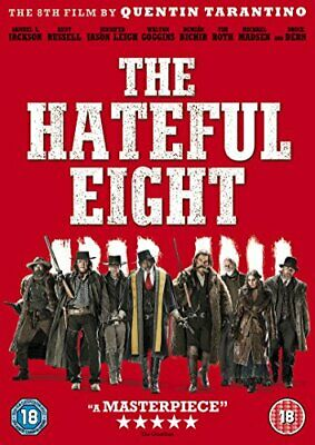 The Hateful Eight [DVD] - DVD  72VG The Cheap Fast Free Post