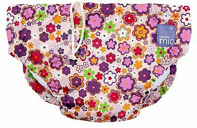 Bambino Mio Reusable Swim Nappy  Ditzy Floral Medium (6-12 Months) ditsy floral