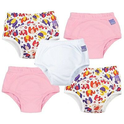 Bambino Mio Potty Training Pants Mixed Girl Pink Elephant 18-24 Months (5 Pack)