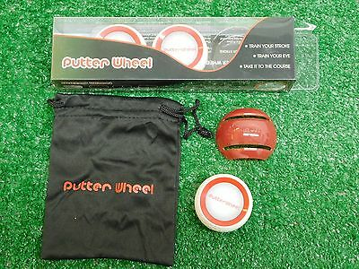 Putter Wheel Putting Training Aid 3 Pack with Stencil & Pouch New