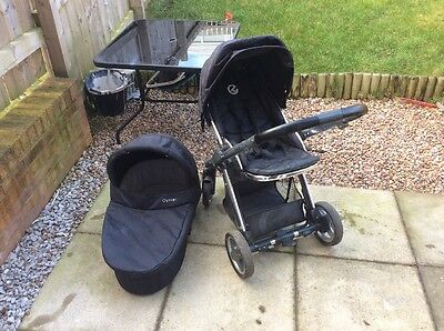 Oyster One Stroller Pushchair Plus Carry Cot Travel System