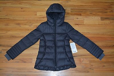 "IVIVVA ""Snow Cozy"" Down Hooded Puffer Jacket, Herringbone Cuff, Girls size 12"