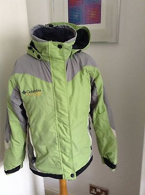 Women's Columbia Ski / Snowboard Jacket Size M Green