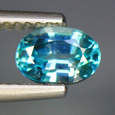 """1.17 Cts """" GEMSTONE COLLECTION """" 100 % NATURAL"""" Unheated """"BLUE ZIRCON_Cambodia"""