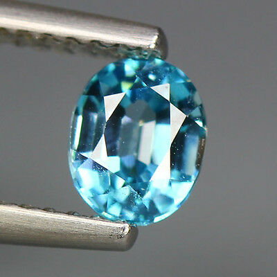 """1.05 Cts """" GEMSTONE COLLECTION """" 100 % NATURAL"""" Unheated """"BLUE ZIRCON_Cambodia"""