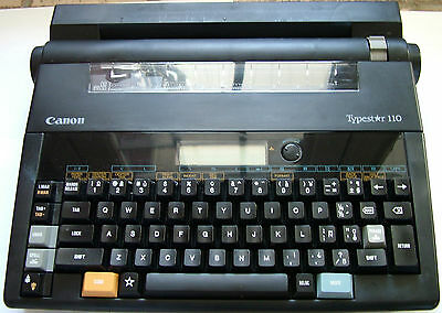 Canon Typestar 110 Electric Typewriter