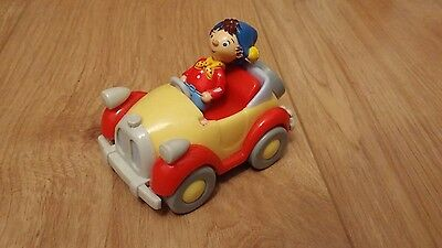 Noddy plastic figure and a car kids toys