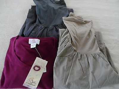 Lot Of Maternity Clothes Size Lg~2 Pants~1 Shirt