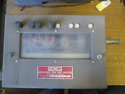 Gemco Rotating Cam Limit Switch 1981-1512