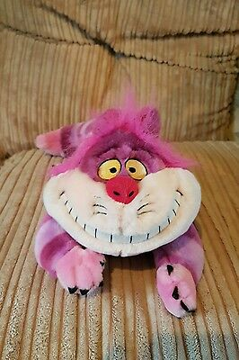 Disney store cheshire cat soft plush toy from Alice in wonderland