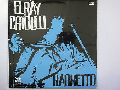 RAY BARRETTO LP, EL RAY CRIOLLO (WEST-SIDE-LATINO US Issue NM/NM)