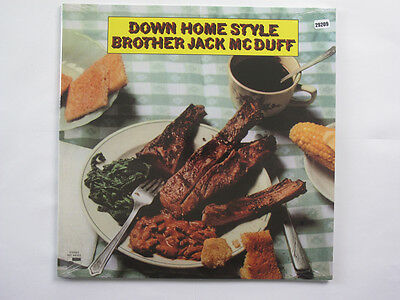 BROTHER JACK McDUFF LP, DOWN HOME STYLE (BLUE NOTE US Issue NM/NM)