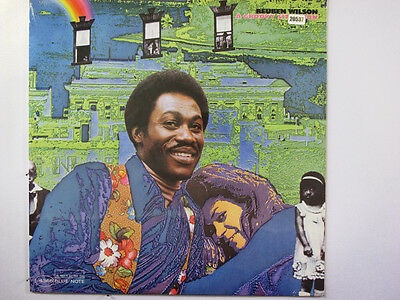 REUBEN WILSON LP, A GROOVY SITUATION (BLUE-NOTE US Issue NM/NM)