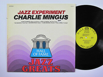 CHARLES MINGUS LP, JAZZ EXPERIMENT (HALL-OF-FAME US Issue VG/EX)