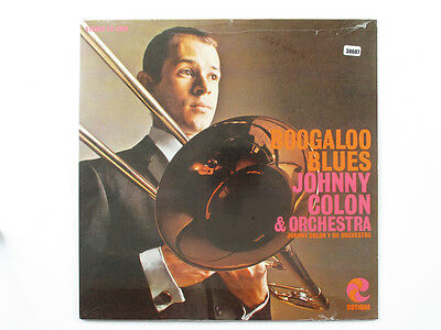 JOHNNY COLON & ORCHESTRA LP, BOOGALOO BLUES (Cotique US Issue NM/NM)