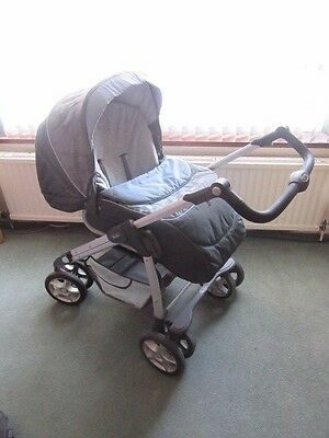 Silver Cross Freeway Linear Travel System With Car Seat