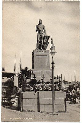 Barbados 1910's PC Nelson's Monument