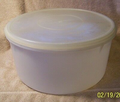 "Nice Large ""Tupperware"" Pie or Cake Carrier"