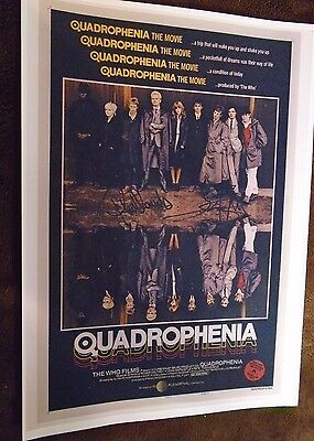 Quadrophenia (The Who) A4 Print Signed by
