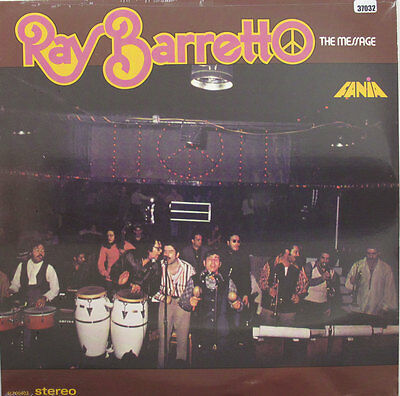 RAY BARRETTO LP, THE MESSAGE (FANIA US Issue NM/NM)