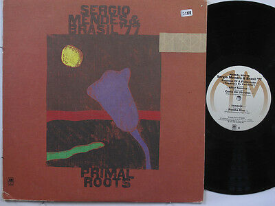 SERGIO MENDES AND BRASIL '77 LP, PRIMAL ROOTS (A&M US Issue EX/EX)