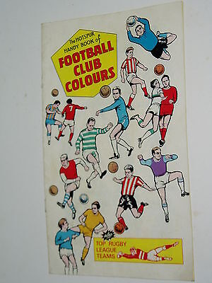 """COMIC """"Giveaway""""....THE HOTSPUR...1969..FOOTBALL CLUB COLOURS"""
