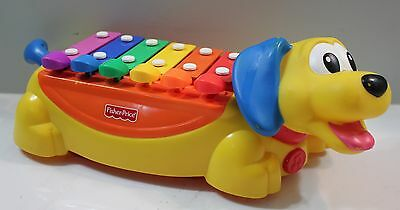 Fisher Price Dog Xylophone Missing Pull Bone