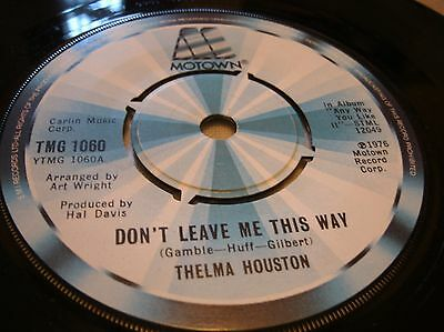 Thelma Houston - Dont Leave Me This Way  Tmg1060 Uk 1976