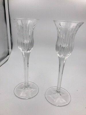 Mikasa Icicles Candleholders 8 Inches 1 pair