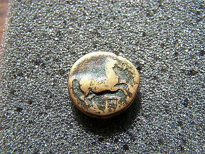 Maroneia, Thrace 400 BC, Horse & Grapes - Ancient Greek Bronze Coin