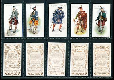 5 x HIGHLAND CLANS – PLAYERS – 1907