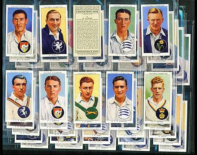 SET – 50 x CRICKETERS, 1938 – PLAYERS