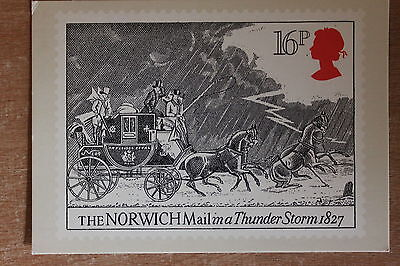 PHQ card of royal mail stamp SG1258