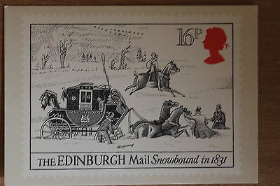 PHQ card of royal mail stamp SG1260