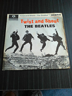 BEATLES - Twist And Shout - Parlophone EP